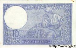 10 Francs MINERVE modifié FRANCE  1940 F.07.18 SUP+