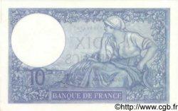 10 Francs MINERVE modifié FRANCE  1940 F.07.20 pr.NEUF