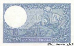 10 Francs MINERVE modifié FRANCE  1940 F.07.20 SUP+ à SPL