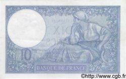 10 Francs MINERVE modifié FRANCE  1940 F.07.25 SUP à SPL
