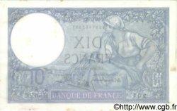 10 Francs MINERVE modifié FRANCE  1942 F.07.31 TTB+ à SUP