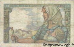 10 Francs MINEUR FRANCE  1941 F.08.01 pr.TTB