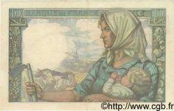 10 Francs MINEUR FRANCE  1943 F.08.07 SUP+