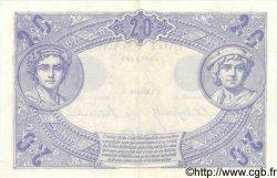 20 Francs BLEU FRANCE  1906 F.10.01 SUP+