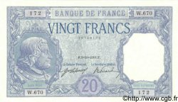 20 Francs BAYARD FRANCE  1916 F.11.01 NEUF