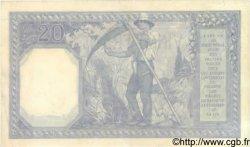20 Francs BAYARD FRANCE  1917 F.11.02 SUP