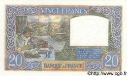 20 Francs SCIENCE ET TRAVAIL FRANCE  1941 F.12.19 NEUF