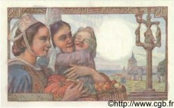 20 Francs PÊCHEUR FRANCE  1947 F.13.11 NEUF