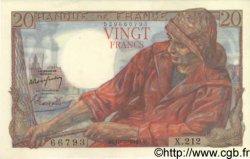 20 Francs PÊCHEUR FRANCE  1949 F.13.14 pr.NEUF