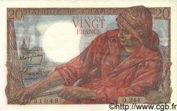 20 Francs PÊCHEUR FRANCE  1950 F.13.17 pr.SPL