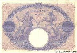 50 Francs BLEU ET ROSE FRANCE  1906 F.14.18 SUP
