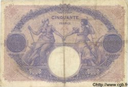 50 Francs BLEU ET ROSE FRANCE  1910 F.14.23 TB