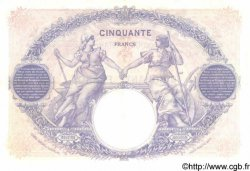50 Francs BLEU ET ROSE FRANCE  1923 F.14.36 SUP+