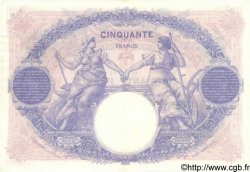 50 Francs BLEU ET ROSE FRANCE  1923 F.14.36 SUP+