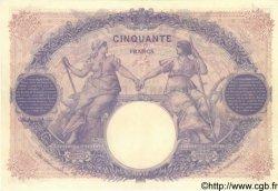 50 Francs BLEU ET ROSE FRANCE  1927 F.14.40 SUP+