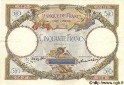 50 Francs LUC OLIVIER MERSON type modifié FRANCE  1930 F.16.01 SUP
