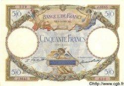50 Francs LUC OLIVIER MERSON type modifié FRANCE  1931 F.16.02 SUP+
