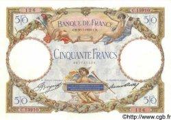 50 Francs LUC OLIVIER MERSON type modifié FRANCE  1933 F.16.04 SPL
