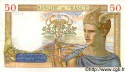 50 Francs CÉRÈS FRANCE  1935 F.17.13 pr.SPL