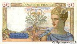 50 Francs CÉRÈS FRANCE  1935 F.17.20 TTB+ à SUP