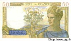 50 Francs CÉRÈS modifié FRANCE  1939 F.18.30