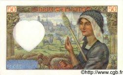 50 Francs JACQUES CŒUR FRANCE  1941 F.19.16 NEUF