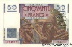 50 Francs LE VERRIER FRANCE  1947 F.20.08 NEUF