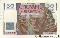 50 Francs LE VERRIER FRANCE  1950 F.20.15 SPL+