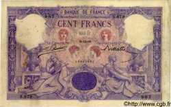 100 Francs BLEU ET ROSE FRANCE  1889 F.21.02 TB+