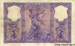 100 Francs BLEU ET ROSE FRANCE  1896 F.21.09 TB+