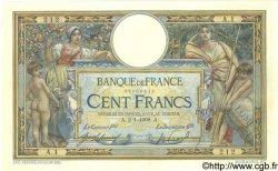 100 Francs LUC OLIVIER MERSON avec LOM FRANCE  1908 F.22.01 pr.NEUF