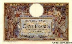 100 Francs LUC OLIVIER MERSON sans LOM FRANCE  1918 F.23.10 SUP