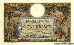100 Francs LUC OLIVIER MERSON sans LOM FRANCE  1922 F.23.15 SUP+