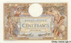 100 Francs LUC OLIVIER MERSON grands cartouches FRANCE  1933 F.24.12 TTB+ à SUP