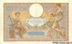 100 Francs LUC OLIVIER MERSON type modifié FRANCE  septembre1937 F.25.01 TTB+