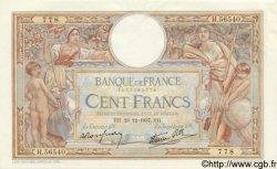 100 Francs LUC OLIVIER MERSON type modifié FRANCE  1937 F.25.06 SPL