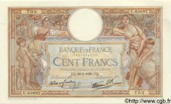 100 Francs LUC OLIVIER MERSON type modifié FRANCE  1939 F.25.40 SUP à SPL