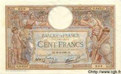 100 Francs LUC OLIVIER MERSON type modifié FRANCE  1939 F.25.43 SPL