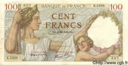 100 Francs SULLY FRANCE  1939 F.26.09 SUP