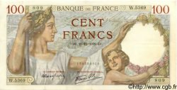 100 Francs SULLY FRANCE  1939 F.26.18 SUP