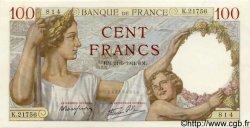 100 Francs SULLY FRANCE  1941 F.26.52 SPL