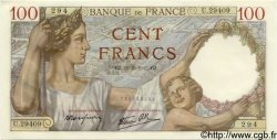100 Francs SULLY FRANCE  1942 F.26.68 pr.NEUF