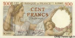 100 Francs SULLY FRANCE  1942 F.26.69 NEUF