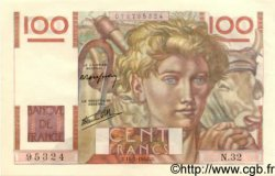 100 Francs JEUNE PAYSAN FRANCE  1946 F.28.03 SPL