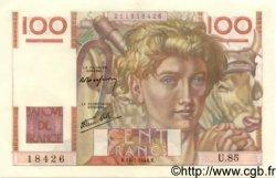 100 Francs JEUNE PAYSAN FRANCE  1946 F.28.07 SPL