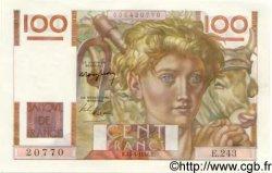 100 Francs JEUNE PAYSAN FRANCE  1948 F.28.17 NEUF