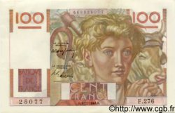 100 Francs JEUNE PAYSAN FRANCE  1948 F.28.20 pr.SPL