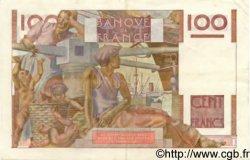 100 Francs JEUNE PAYSAN FRANCE  1953 F.28.38 pr.SUP