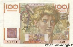 100 Francs JEUNE PAYSAN FRANCE  1953 F.28.38 TTB