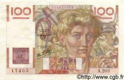 100 Francs JEUNE PAYSAN Favre-Gilly FRANCE  1947 F.28ter.01 SUP+
